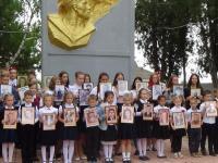 Митинг, посвященный 73-ей годовщине Победы