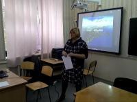 20 октября прошёл урок-эксперимент «Экология Сакских озёр».